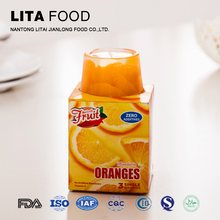 Kosher Halal Passed Canned Orange Fruit Cocktail Sweet Cup