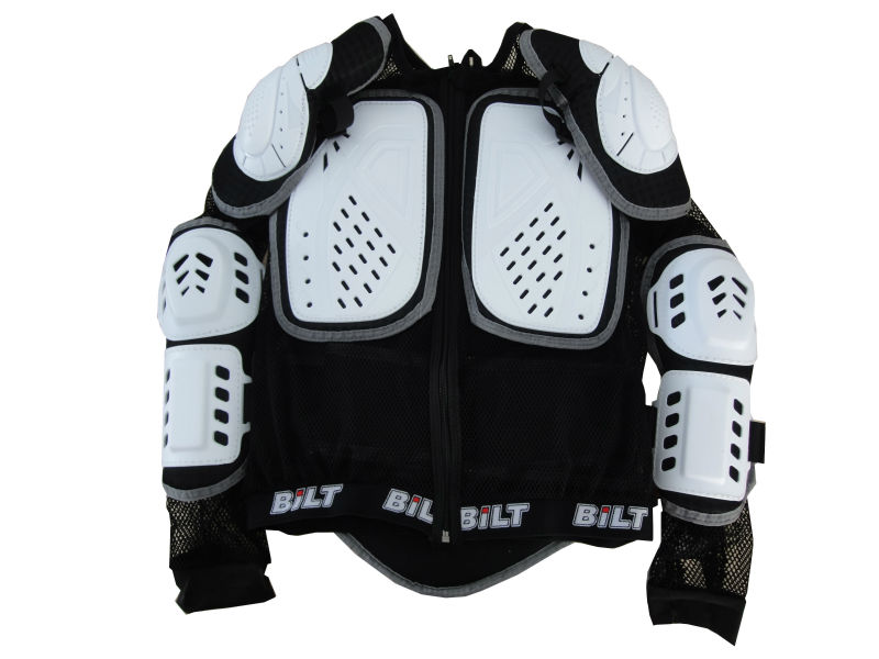 Motorcycle protection body armor