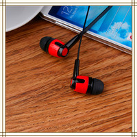 China wholesale promotional bass sound plastic flat wire earphone for nokia x6