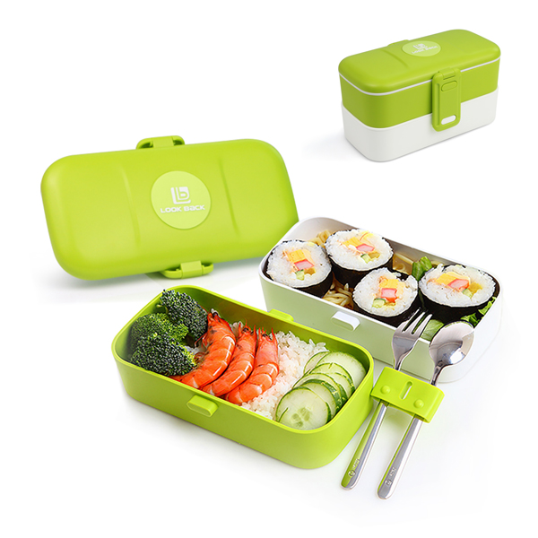 Reusable Lunchbox Made with High Quality Plastic
