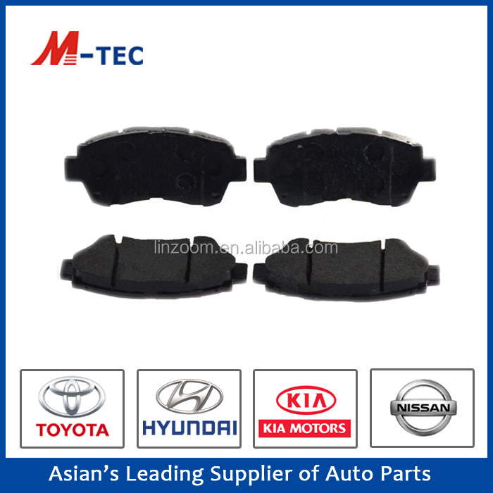 Suzuki car alto brake pad 04465-50080 used for Lexus without noise