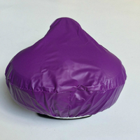 Waterproof PVC Bicycle Seat Covers Cushion Cover Bike Saddle Cover
