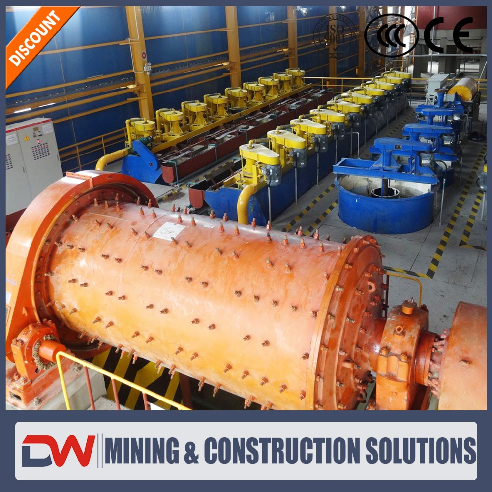Ball mill used in calcium carbonate from Dewo