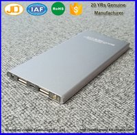 Aluminum Extruded Enclosure Power Bank Housing Case