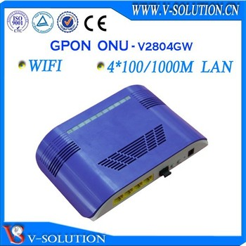FTTH fiber optical Wireless 4GE GPON ONT wifi router