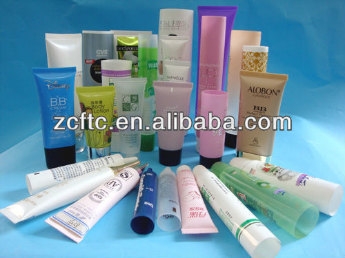 All kinds of size plastic soft packing tube for cosmetic cream