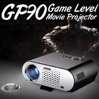 1280x800 TOP Quality simpleBeam projector GP90,3200 lumens VIVIBRIGHT Projector so small 3200 lumens Better than mini projector