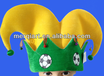 Hot selling funny football jester hat