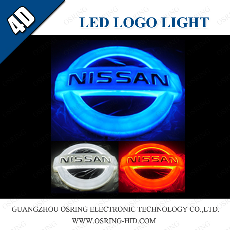 OSRING led car logo badge lights led badge light led door courtesy light with car logo