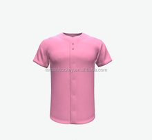 custom sublimated hot pink infant baseball jersey