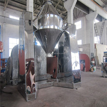 Rotating drum chemical dry powder mixer/blending machine