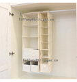 Hanging 4 6 Shelf canvas Closet Organizer