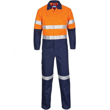 Wholesale used reflective fire retardant safety clothing,100 cotton coverall for oil and gas