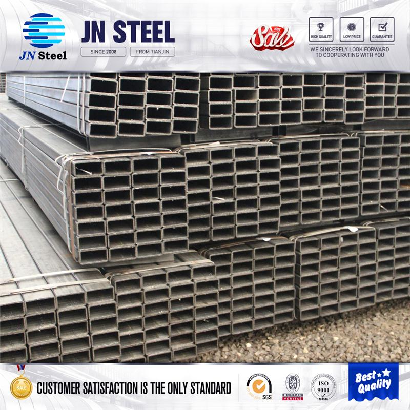 Professional high quality ms carbon steel galvanized square pipe with CE certificate