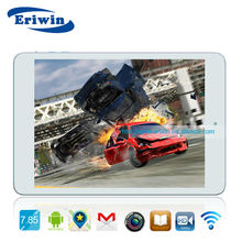 ZX-MD8007 cheapest! 7.85 inch quad core easy touch tablet with android 4.1 and cover cases for android tablet