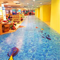 shopping mall use customized vinyl flooring