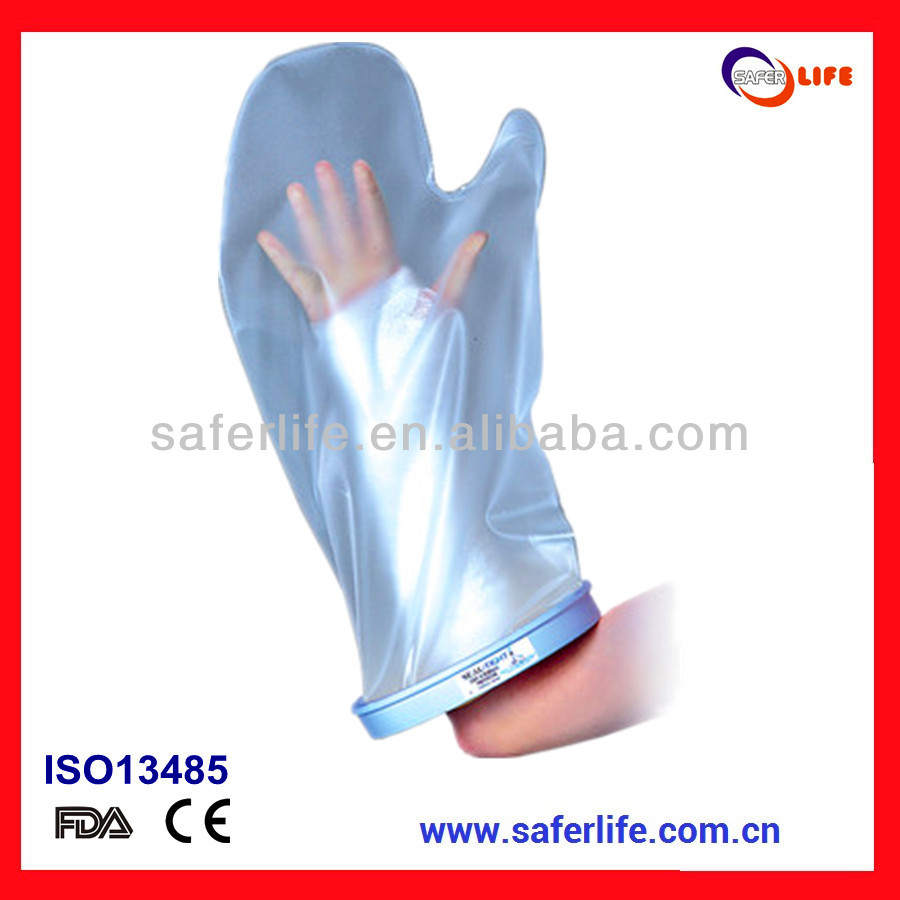hot sales waterproof cast bandage protector arm cast cover