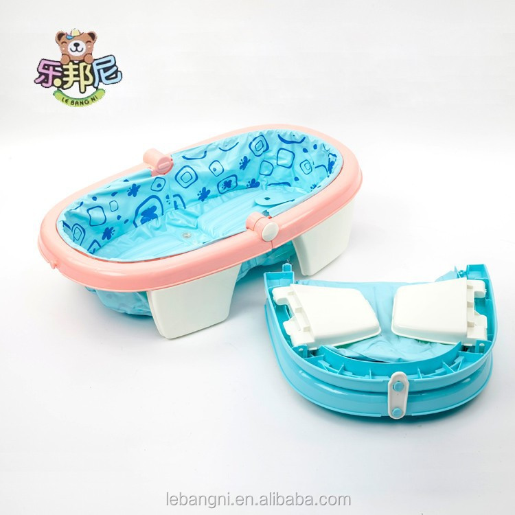 ECO-friendly folding inflatable baby bath tub/kids bath tub