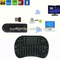 Android Mini PC TV Box Stick MK809II+Fly Air Mouse RC13 Wireless Keyboard the first Android Mini PC with Bluetooth