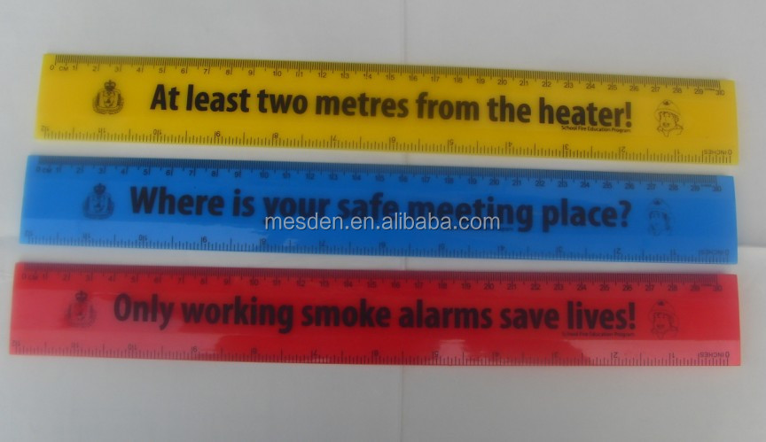 Promotional 15CM Plastic Ruler / 30cm Ruler / Promotional Ruler