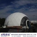 China supplier Latest design big geodesic domes tent for sale