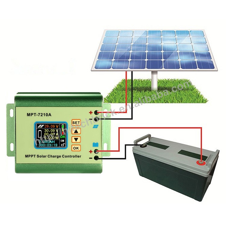 MPPT solar <strong>charge</strong> <strong>controller</strong> with LCD for Display 24/36/48/60/72V 10A with DC-DC Boost <strong>Charge</strong> Function