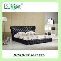 Euro Hot sale NEW Design bedroom Leather Bed