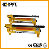KIET China Manufacturer Pressure Portable Hydraulic Oil Pump for Small Cylinders