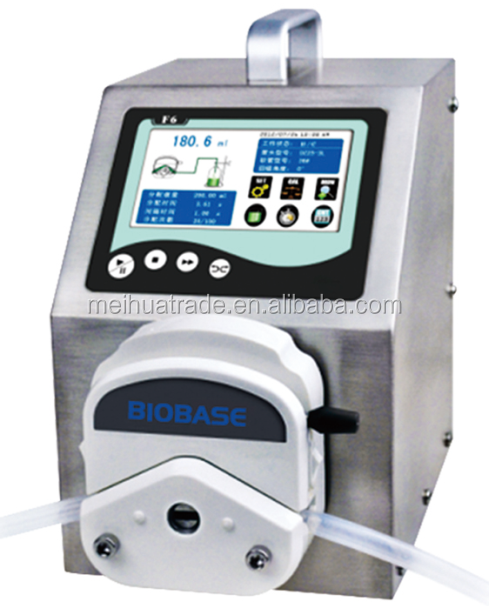 DPP-F6 Series Dispensing Peristaltic Pump with intelligent calibration