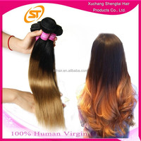 Aliexpress Hair Cheap Price Raw Malaysian 20 Inch Two Tone 100 Human Hair Weave Wholesale