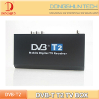 Cheap DVB-T T2 digital tv tuner box with AV output