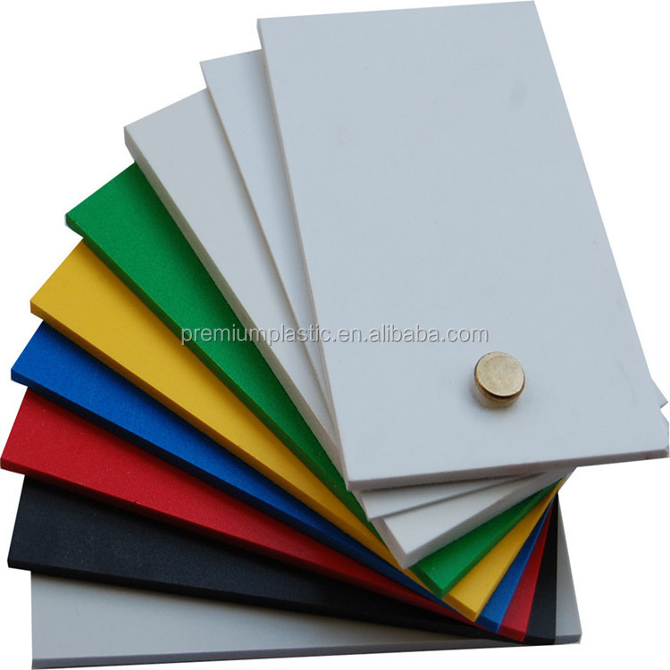 Premium Plastic best price white and colour 3mm pvc foam sheet for sign board