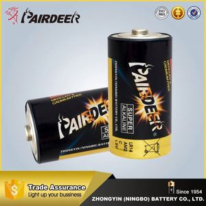 New product factory supply high quality 1.5v lr4 size c alkaline battery