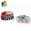 Designer Flower Colorful PU Pet Collar