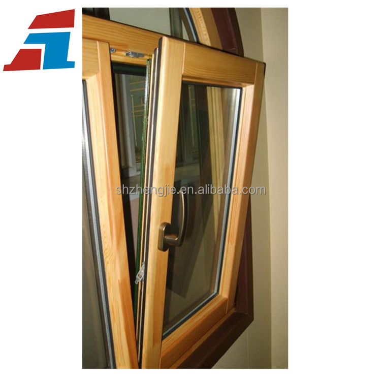 Shanghai High Quality Thermal Break Aluminum Tilt And Turn Windows