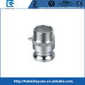F Adapter, Male Adapter x MNPT, 316 stainless steel
