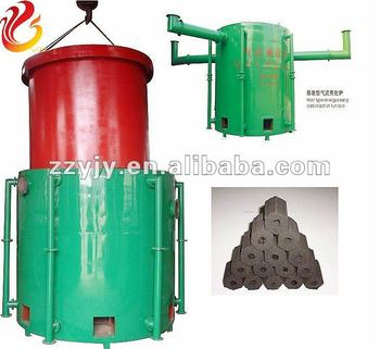 Continous carbonization stove/kiln