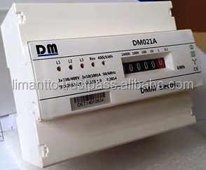 DM 021 A Three phase energy meter