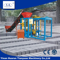 Concrete block machines for sale QTJ4-26D manual concrete block making machine price