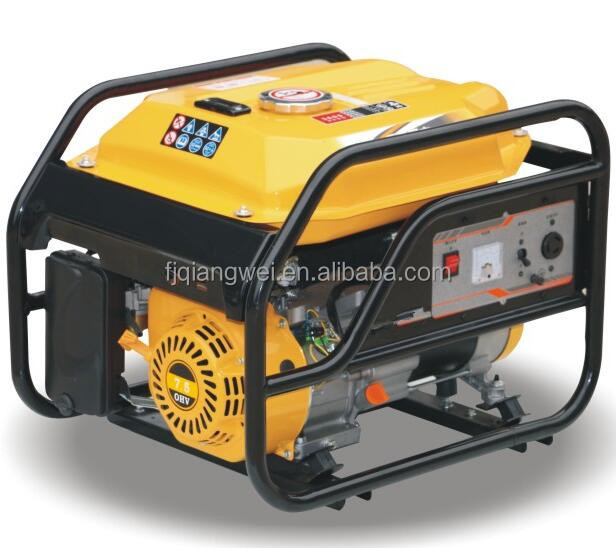 6.5HP 2500W 220v/380v 50HZ power small three phase Gasoline generator