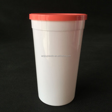 Adult Disposable Plastic Cups With Lids