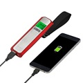 Newly 50kg digital luggage scale with 5200mAh Battery Charger Power bank and LED flashlight with Blue LED backlight
