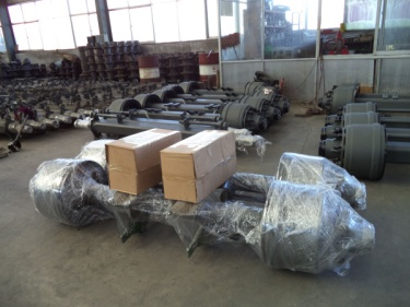 Trailer Axle -- Packing