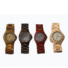 Customized Brand brown wood watch for ladies