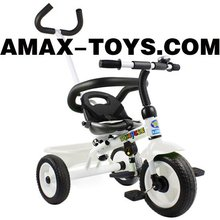bt-0160213 kids tricycle New design children multifunctional ride on tricycle and baby stroller (2 in 1)