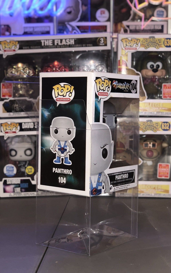 Free Sample Funko POP Protectors Box Package,Tuck Top Clear PVC Boxes