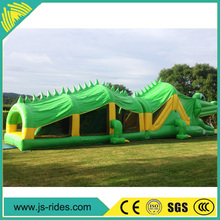 Alibaba Crocodile Inflatable Obstacle Tunnel Supplier And Manufacturer