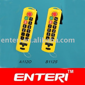 Radio wireless industrial remote control system