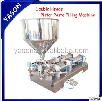 Excellent! 100-1000 ml Double Heads Cream Shampoo Filling Machine YSC