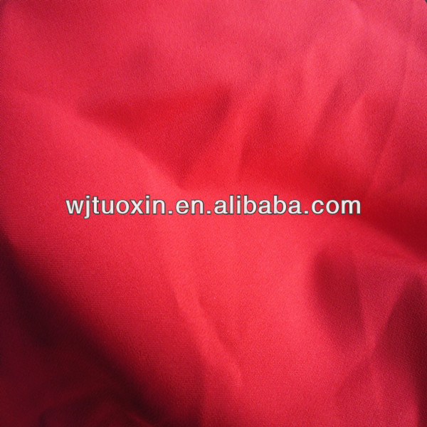 100 polyester pongee lining fabric/pongee fabric for bedding
